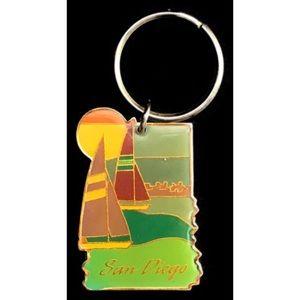 Accessories - Vintage San Diego keychain